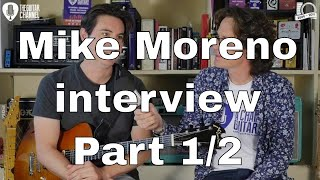Mike Moreno Jazz guitar player interview in Paris - Part 1/2