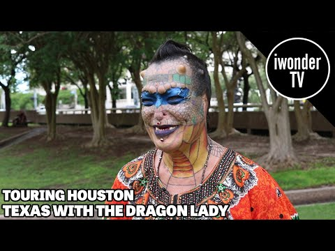 The Dragon Lady - Living In Houston Texas