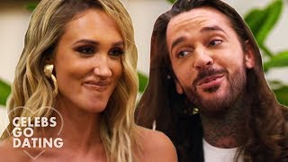 """Don't Start On Me Already"" Exes Pete Wicks & Megan McKenna Meet Each Other! 