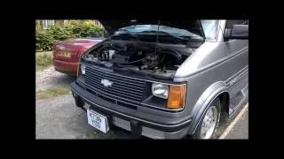 1993 Chevrolet Astro Van EXT Discovery Conversion Starcraft