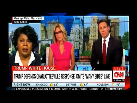 Chris Cuomo CNN News Day take on Trump's explosive Phoenix Rally Speech where he doubled down