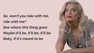 Meant To Be - Bebe Rexha Feat. Florida Georgia Line (Lyrics)