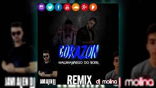 Maluma   Corazón ft  Nego do Borel Dj Molina & Javi Alen Dj Remix 2017