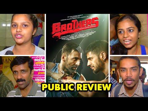 Brothers Public Review | Akshay Kumar, Sidharth Malhotra, Jacqueline Fernandez, Jackie Shroff