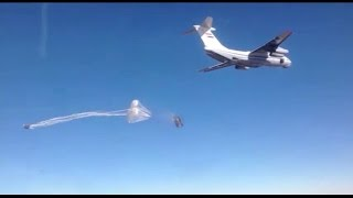 Российская авиация сбросила гумпомощь над захваченными ИГИЛ городами Сирии