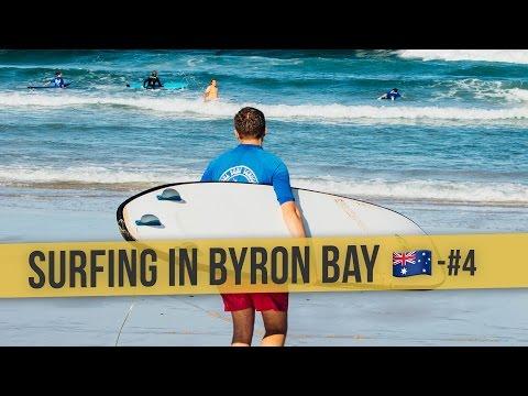 SURFING IN BYRON BAY | 🇦🇺 Australia Daily Vlog #4