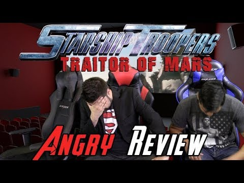 Starship Troopers 5: Traitor of Mars Angry Movie