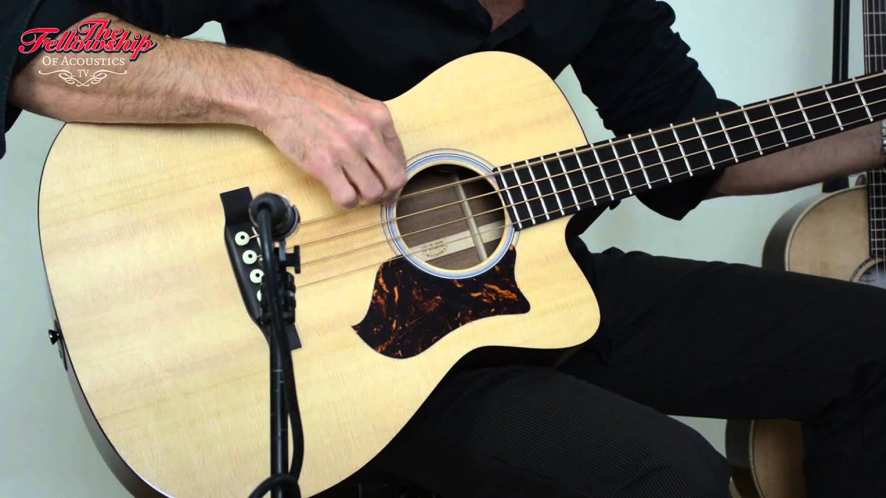 1fab13eebfa Martin Performing Artist series BCPA-4 Acoustic Bass at The Fellowship of  Acoustics