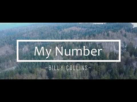 My Number - Billy Collins (Poetry Studies Final Project)