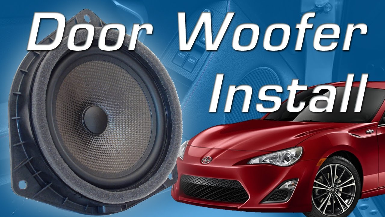 brz fr s o door speaker install youtube. Black Bedroom Furniture Sets. Home Design Ideas