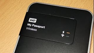 WD My Passport Wireless Unboxing - 2 TB Hard Disk