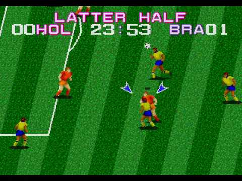Jugando a... Tecmo World Cup '92 [Mega Drive/Genesis]