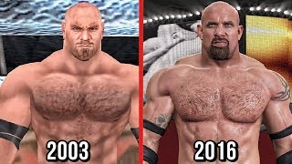 The Evolution Of Goldberg in WWE Games! ( Wrestlemania XIX To WWE 2K17 )