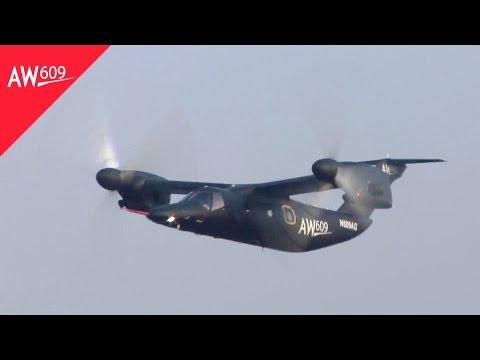 AgustaWestland - AW609 TiltRotor VTOL Multi-Role Aircraft [1080p]