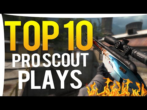 CS:GO - Top 10 BEST PRO SCOUT PLAYS OF ALL TIME!