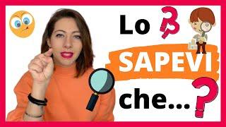L'italiano NON Deriva dal Latino! - 8 Cose Interessanti sulla Lingua Italiana che (forse) non Sai 😌