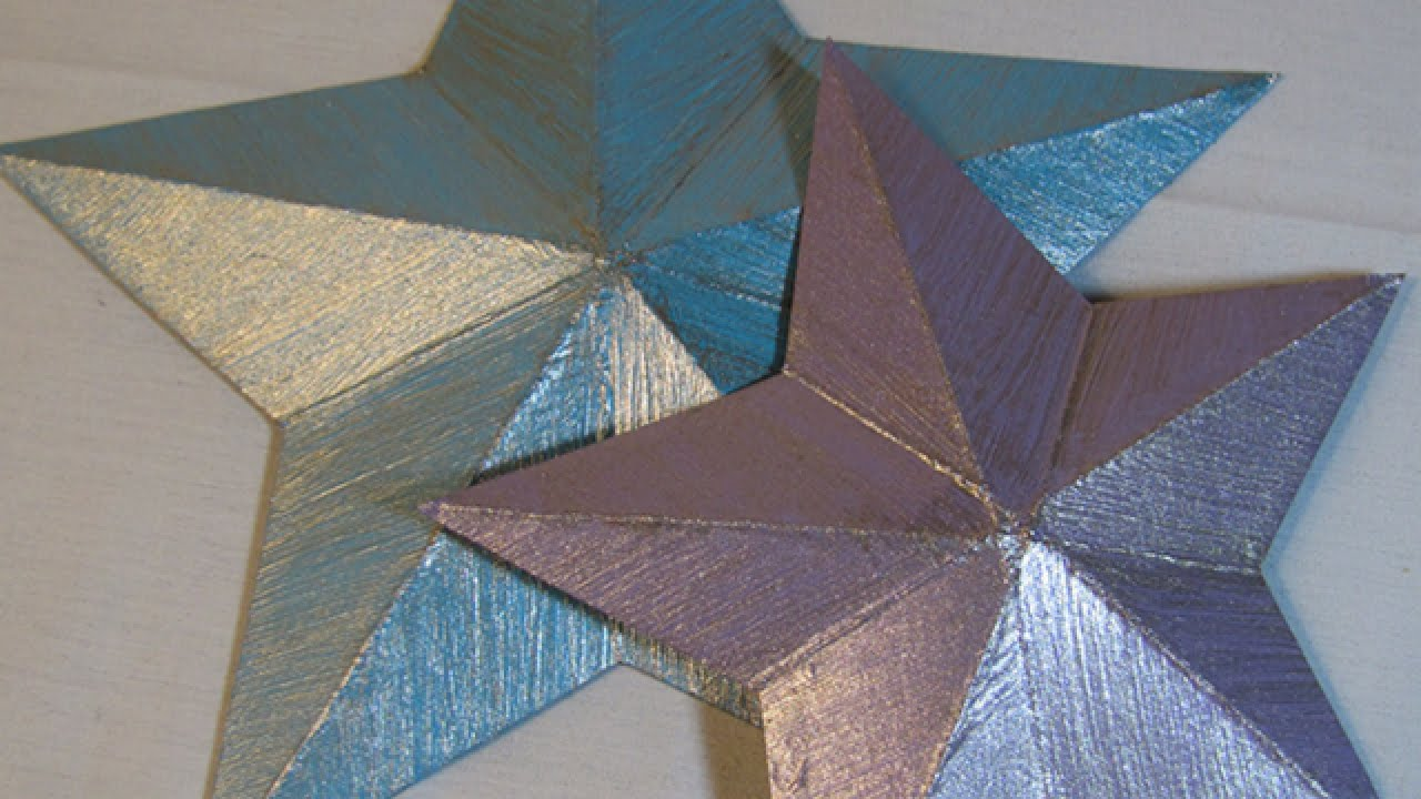 Christmas Decorations Out Of Paper