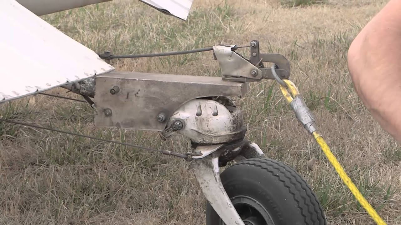 Tow Hitch Installation On Cessna Single Engine Aircraft
