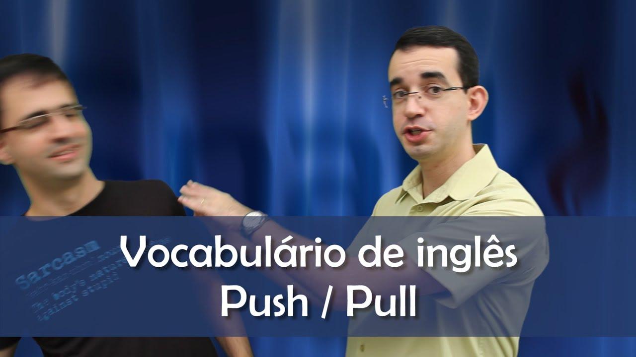Que significa pull on en inglés