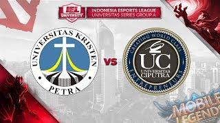 UNIV KRISTEN PETRA vs UNIVERSITAS CIPUTRA @IEL 2019: University Series (MLBB - DOTA 2)