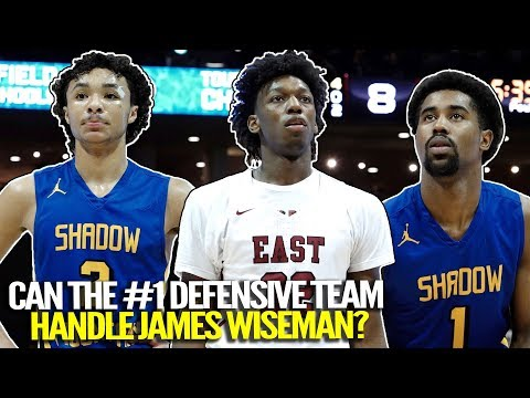 #1 Recruit James Wiseman TAKES DOWN The #1 Defensive Team In The Country!!!