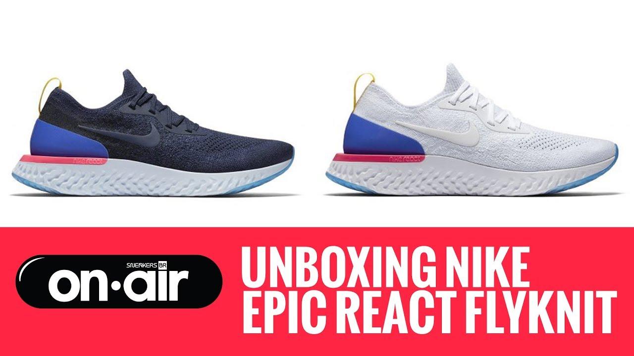 1abb04489b136 SBROnAIR Vol. 51 - Unboxing Nike Epic React Flyknit -  piranomeuair ...