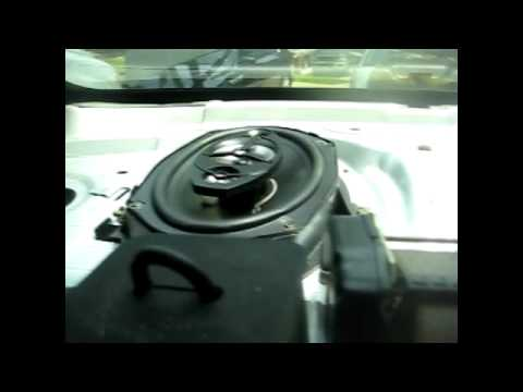 boss audio 6 5 and 6x9 speaker install in a 04 chevy impala youtube. Black Bedroom Furniture Sets. Home Design Ideas