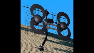 ClearStream™ 4V UHF/VHF Indoor/Outdoor HDTV Antenna - Assembly and Installation (Outdoors)