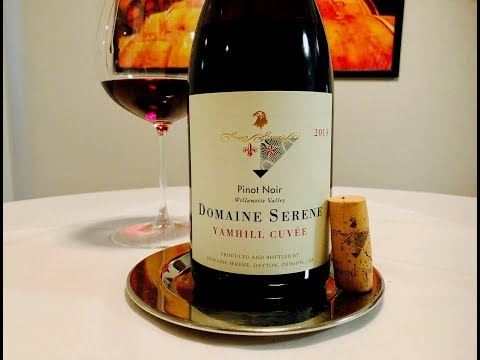 Episode 350: 2013 Domaine Serene Pinot Noir, Yamhill Cuvee Willamette Valley Oregon