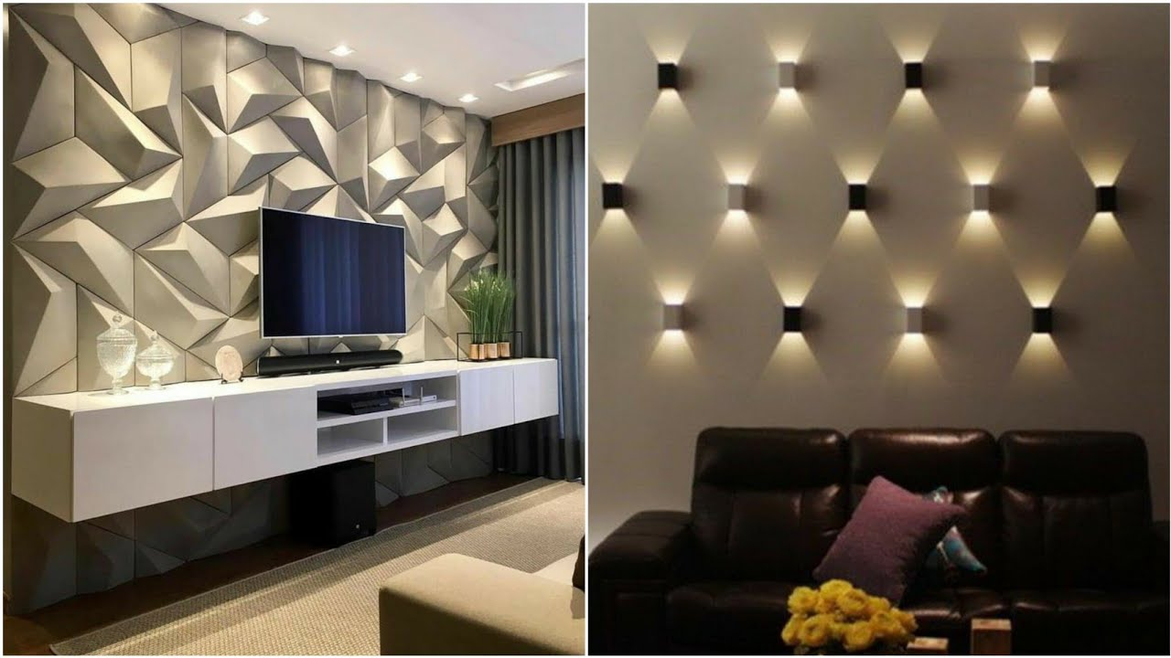 100 Wall Decorating Ideas Modern Home Wall Design 2021 Youtube