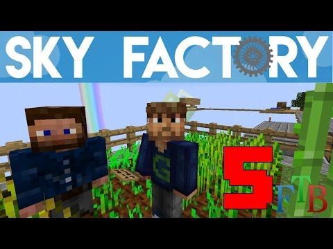 Ep 05 / Starting the Hatchery Mode / Sky Factory 3.0 / FTB / Minecraft / Tutorial