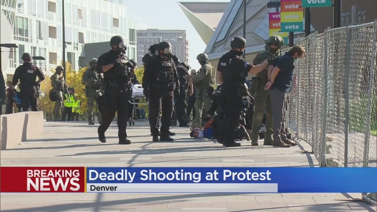 Shooting During Dueling Protests In Denver Turns Deadly