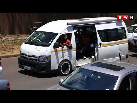 Taxi drivers strike in Pretoria and demand Transport Minister be fired