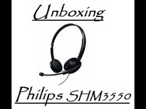 Unboxing Headset Philips SHM3550 + Teste (Review) PT-Br