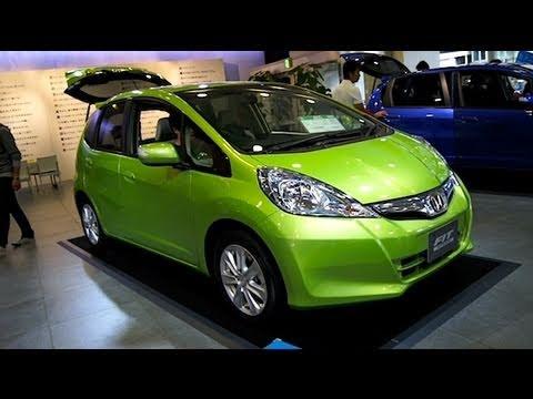 2011 Honda Fit Hybrid Youtube