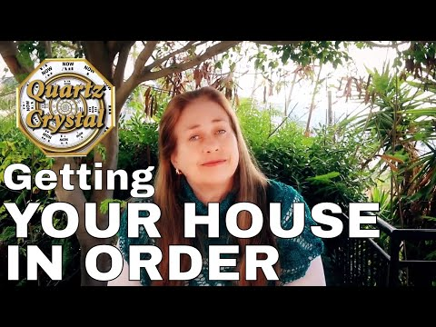 Getting Your House In Order & Cause & Effect THE MATRIX GAME of LIFE