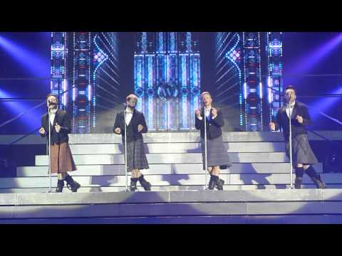 Westlife - World Of Our Own (wearing kilt) - SECC Glasgow 27.05.2012