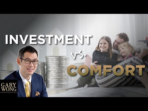Investment VS Comfort - Real Estate Investing