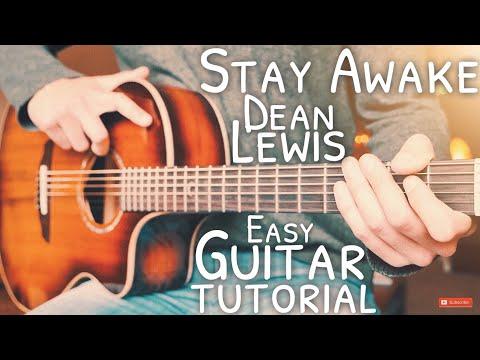 Stay Awake Dean Lewis Guitar Tutorial // Stay Awake Guitar // Guitar Lesson #676