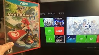 WHAT Happens When YOU put a WII U game in an XBOX one