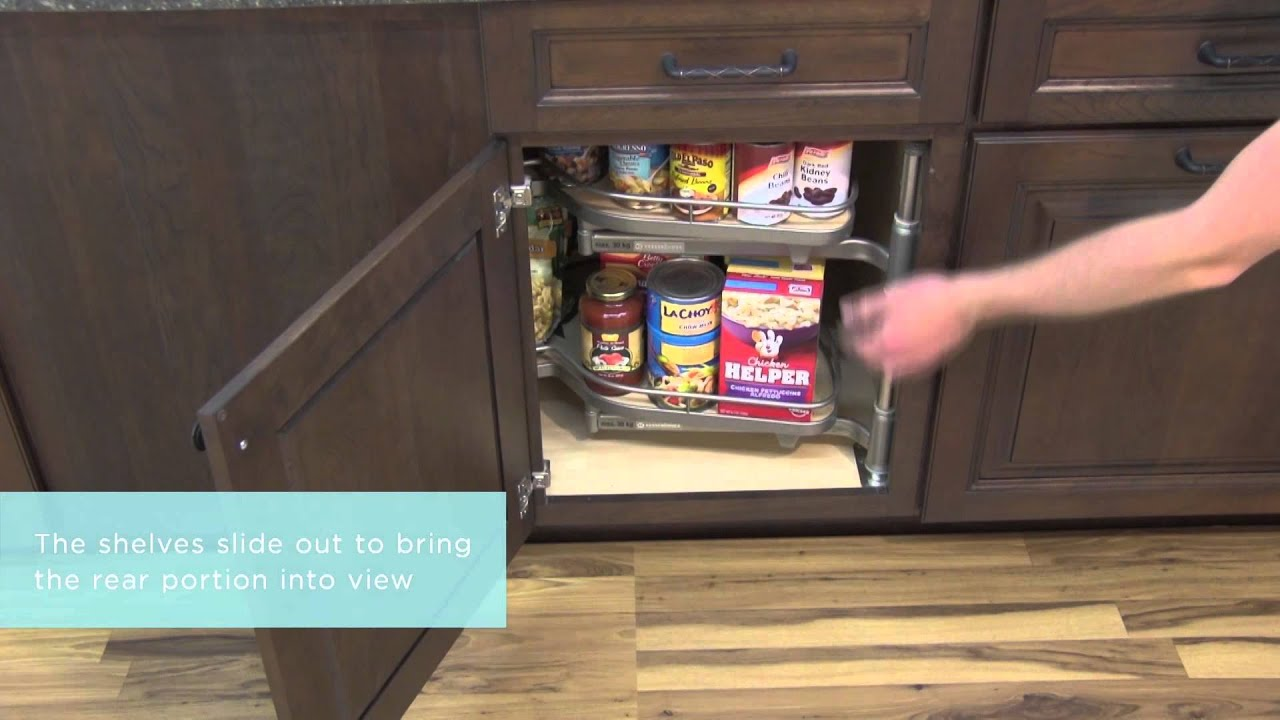 Kitchen cabinet base blind corner - Medallion Cabinetry Base Blind Corner With Pull Out Storage Kitchen Storage Part 20