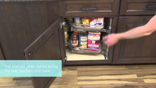 Medallion Cabinetry: Base Blind Corner With Pull-out Storage, Kitchen Storage Part 20
