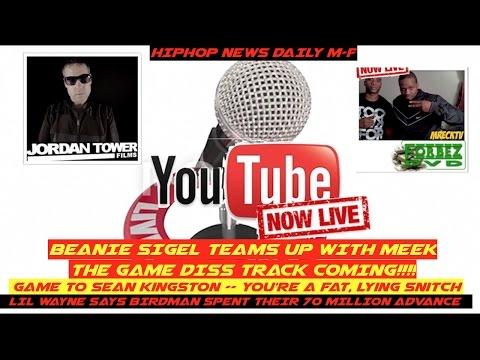 Daily Hip Hop News Jordan Tower & M.Reck Game Vs Meek BEEF, Beanie Sigel DISS, Sean Kingston MORE