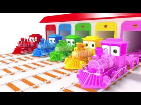 appMink School Bus | Fire Truck | Police Cars | Steam Train