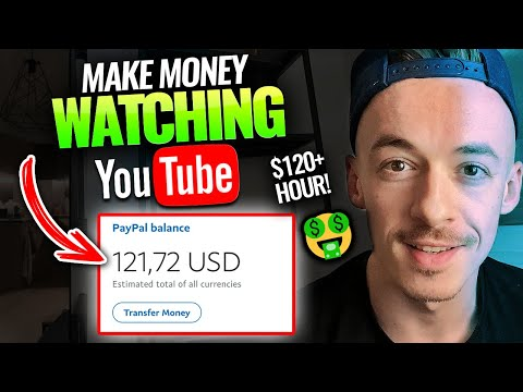 Make Money Online Watching Youtube Videos ($120+ HOUR!) | Available Worldwide - Affiliate Marketing