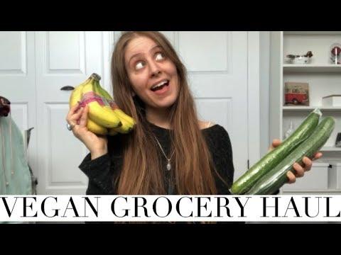 VEGAN GROCERY HAUL // HEALTHY + ORGANIC