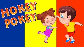 Hokey Pokey Song and Dance for Children   Nursery Rhymes with Lyrics