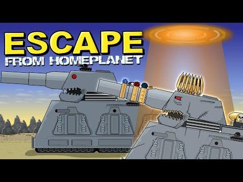 """""""Escape"""" -  Cartoons about tanks"""