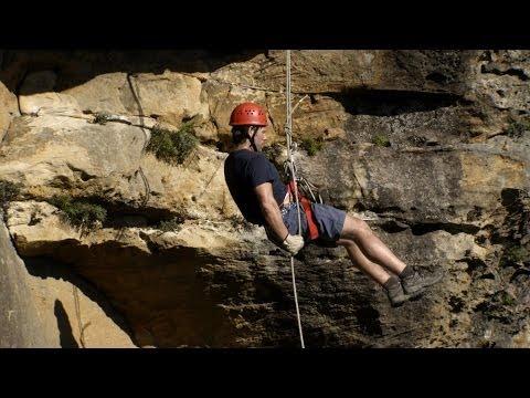 John Bishop abseils down the Blue Mountains  John Bishop's Australia: Episode 1 P  BBC One