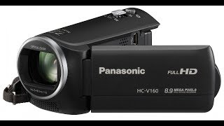 обзор. Техника. Видеокамера Panasonic HC-V160